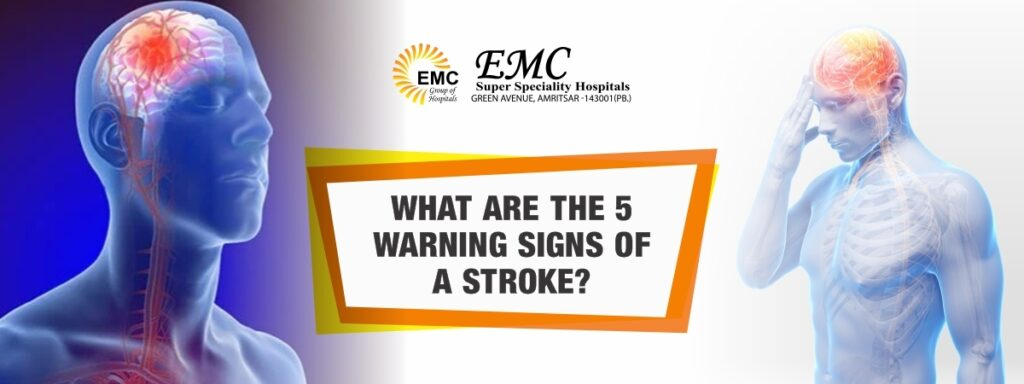 warning signs of a stroke